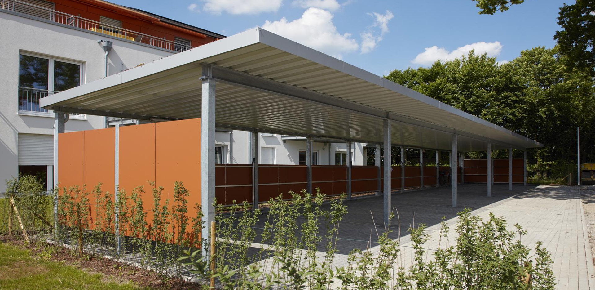 carport metall carport salzburg metall parkplatz with. Black Bedroom Furniture Sets. Home Design Ideas